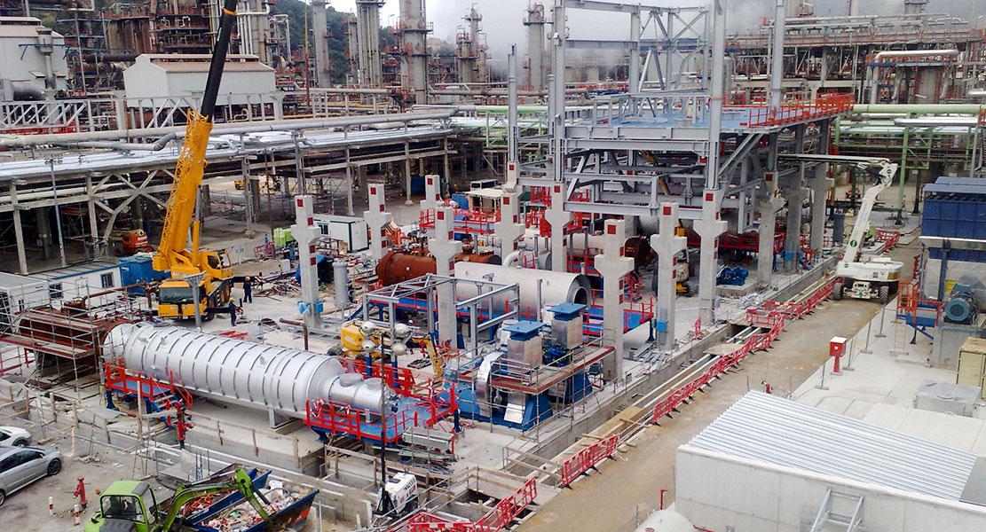 Cimentación de máquinas industriales en Palencia
