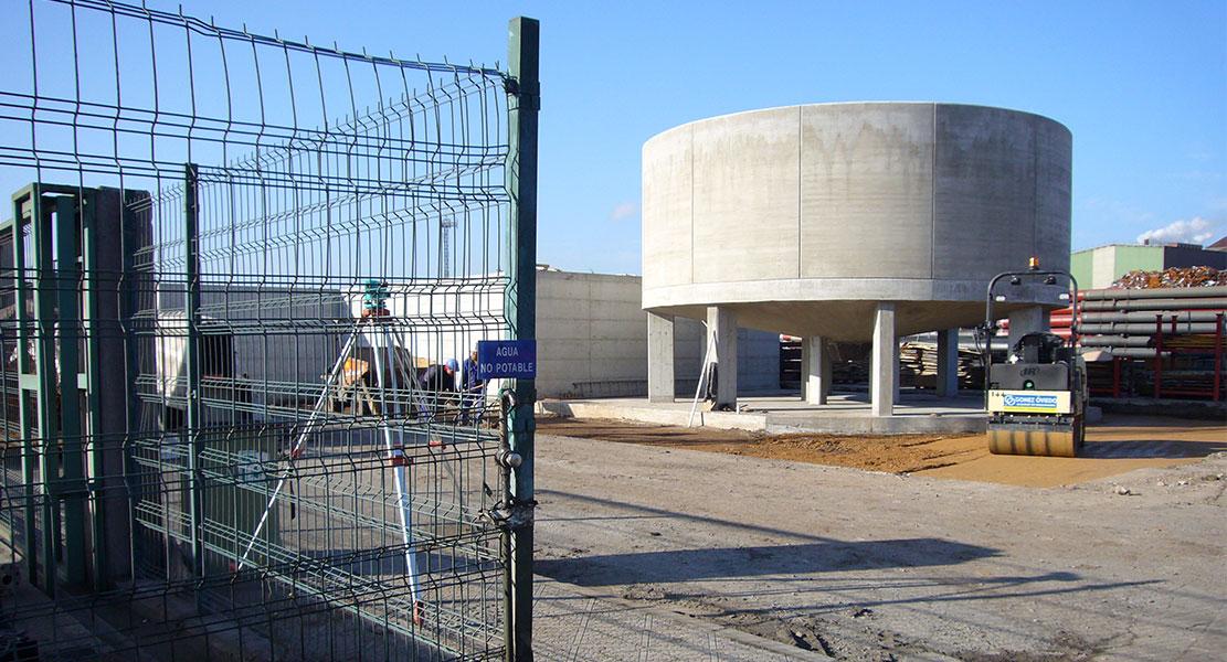 Cimentación de silos