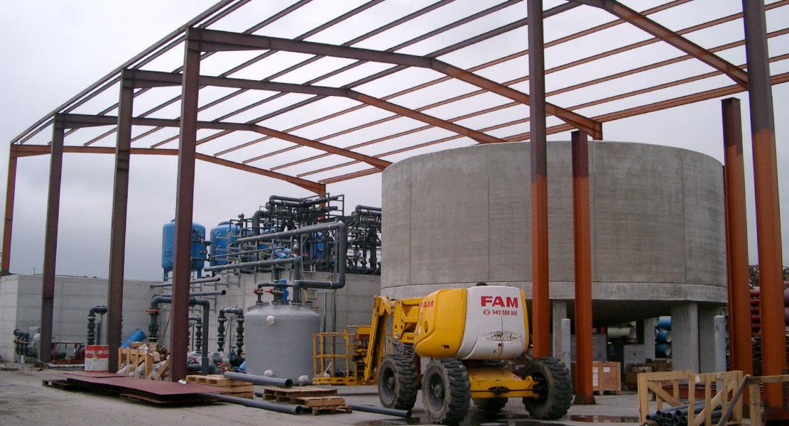 Estructuras métalicas naves industriales en Burgos