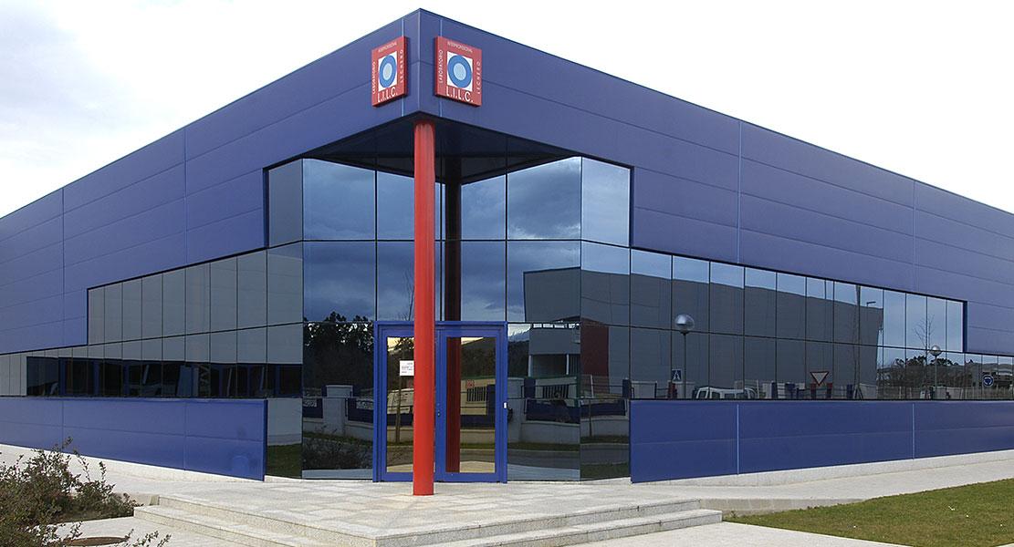 Edificación industrial en Madrid