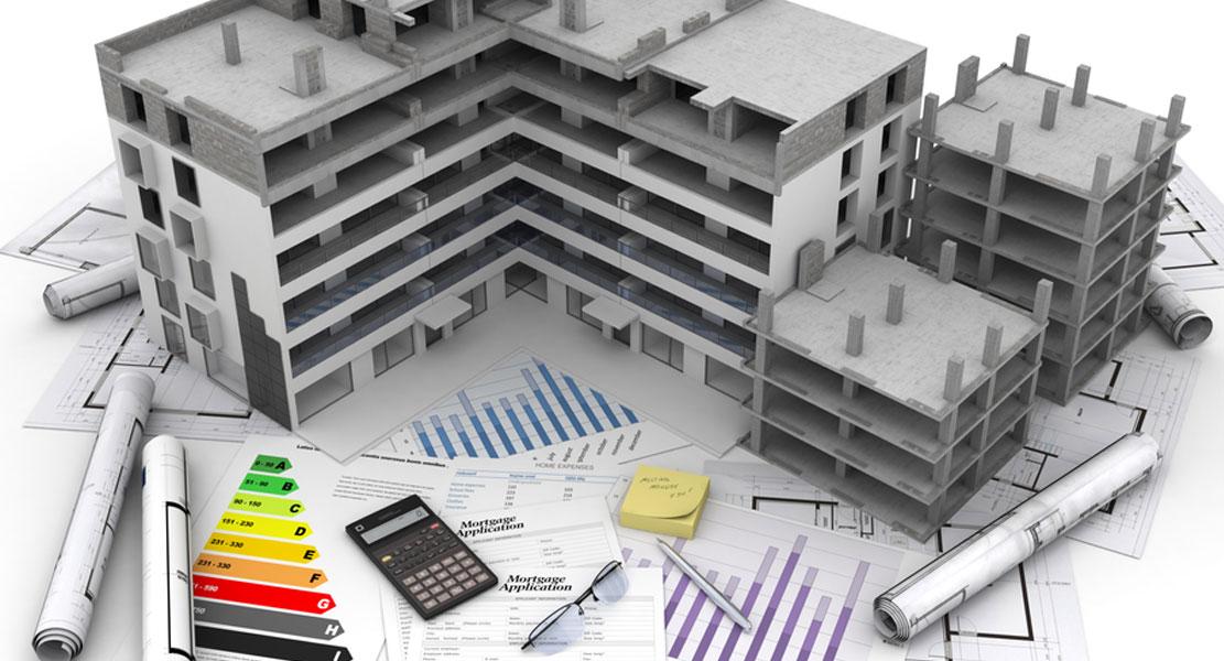 Construcción de bloques de viviendas