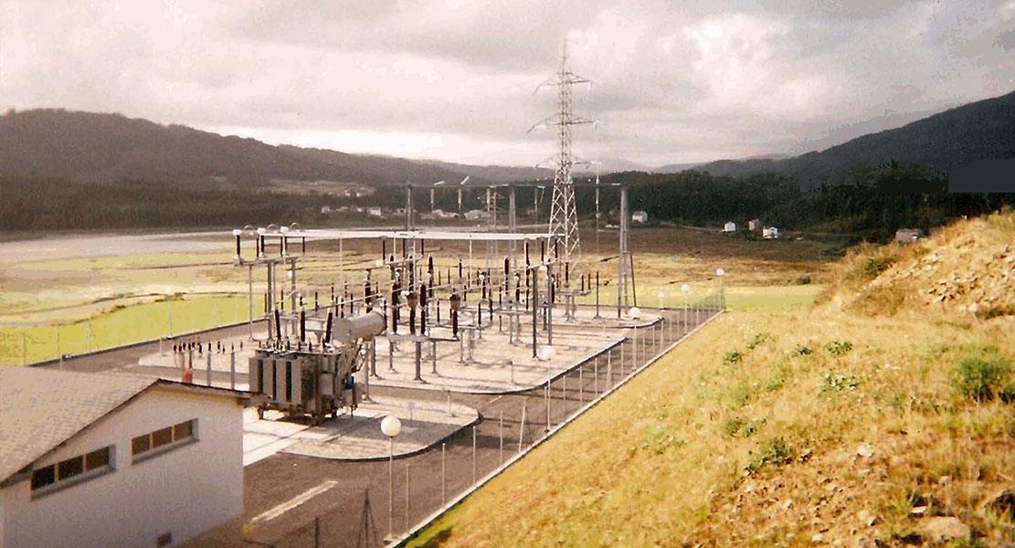 Construcción de subestaciones eléctricas