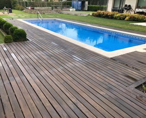 Construcción de piscinas de hormigón en Bilbao